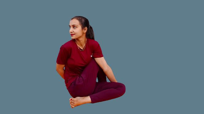 Ardhamatsyendrasana (Spinal Twist Yoga)