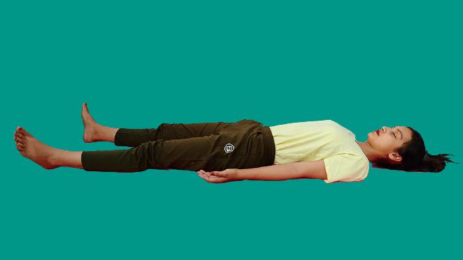 शवासन(Shavasana)Corpse Pose